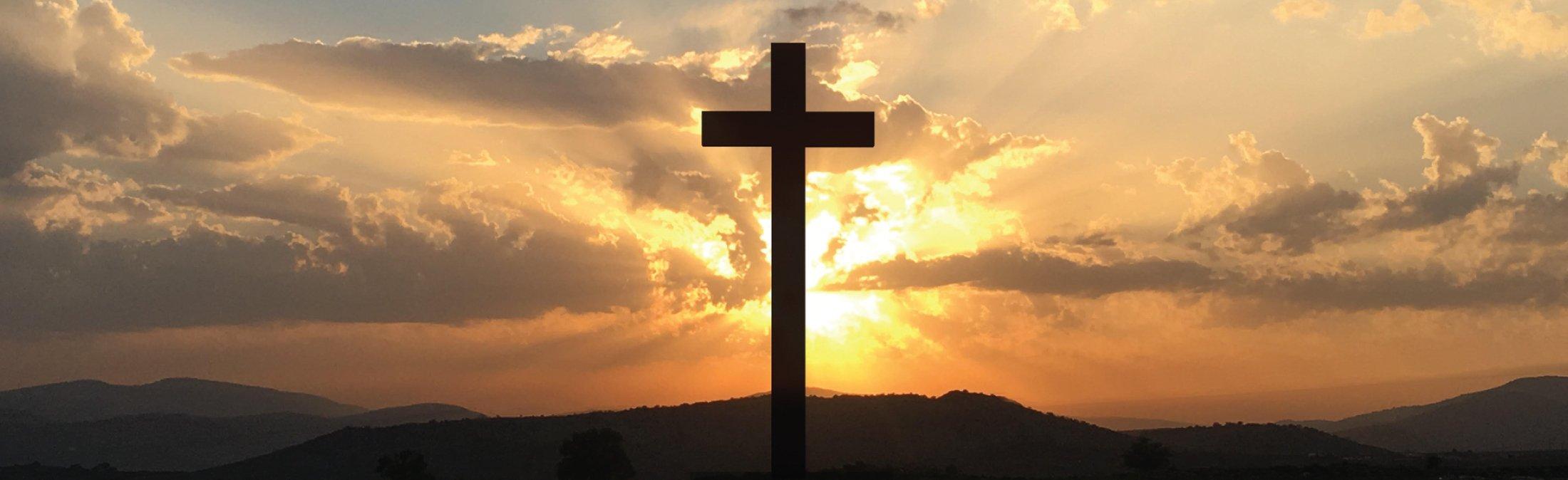 cross in horizon